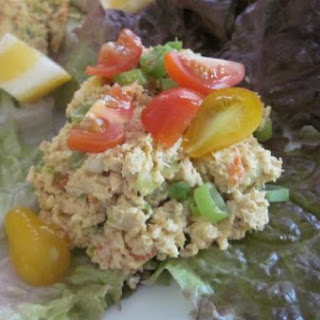 Curried Tuna Salad in Lettuce Wraps