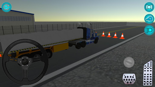 Real Truck Parking game 3D