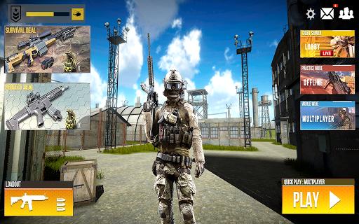 Real Commando Shooting: Secret mission - FPS Games 1.4 screenshots 1