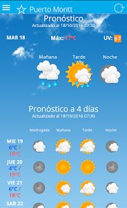 MeteoChile screenshot 4