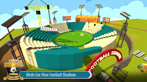 Football Stadium Builder Construction Crane Game 2.0.1 screenshots 4