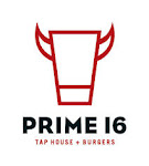 Logo for Prime 16 Tap House + Burgers