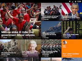 Screenshot of Al Jazeera English