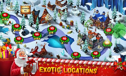 Santa Christmas Escape - The Frozen Sleigh apktreat screenshots 2