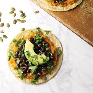 Vegan Butternut Squash Tacos.