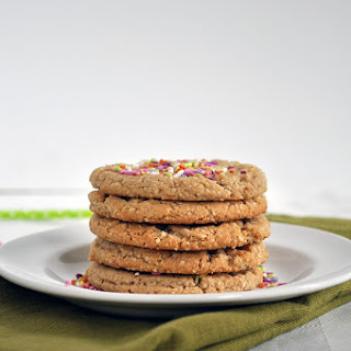 Grain Free Sugar Cookies.