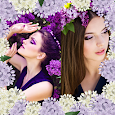 Lilac Photo Collage