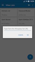 Screenshot of Wiseplay