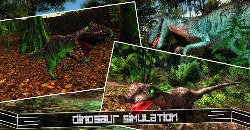 アロサウルス:ワイルドディノシミュレータ