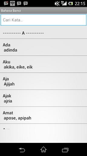 Kumpulan Bahasa Banci
