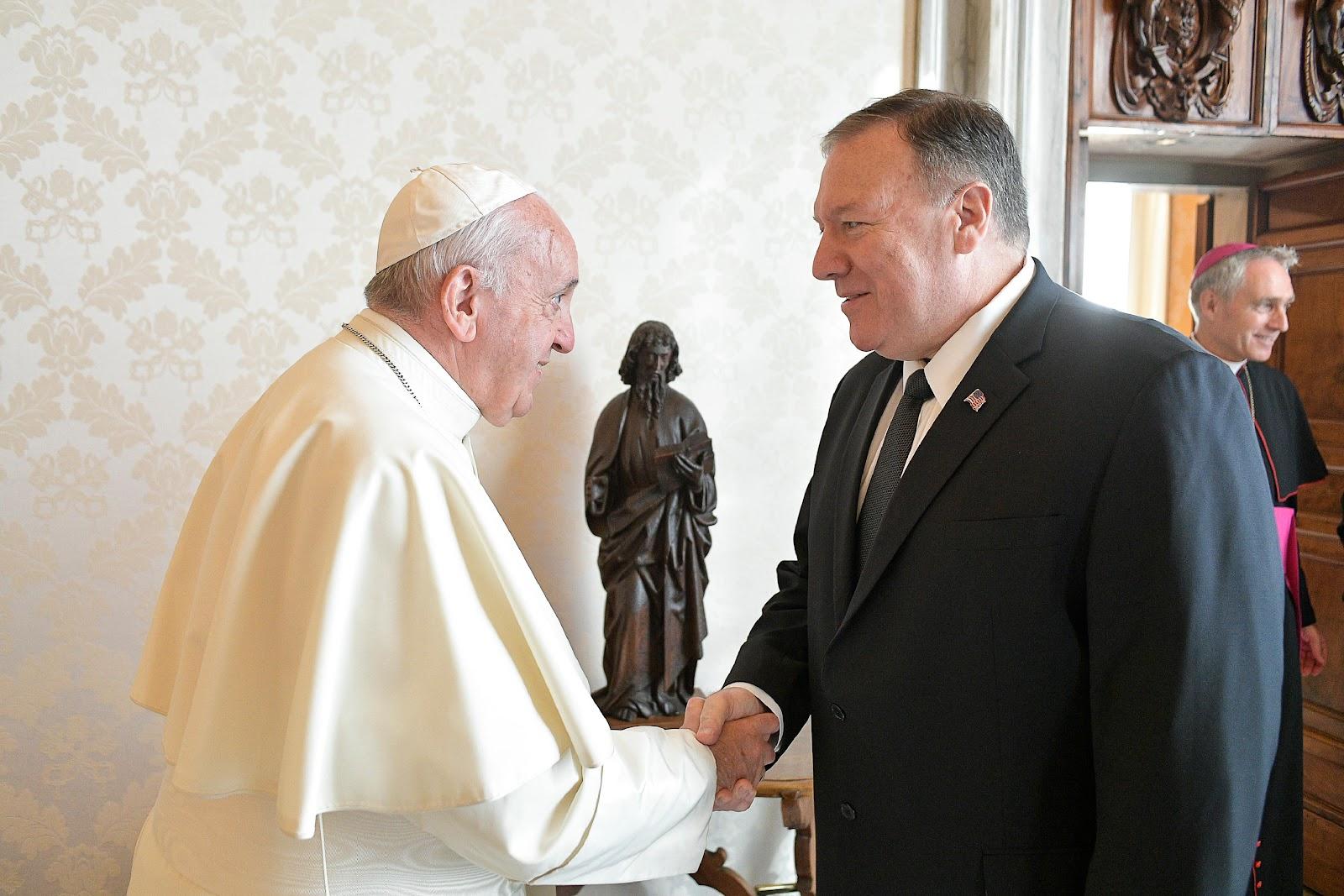 Hoa Kỳ và Tòa Thánh: hợp tác trong việc thúc đẩy tự do tôn giáo, chống buôn người, và thăng tiến nhân quyền