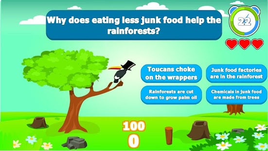 EcoTrivia Save the Animals!- screenshot thumbnail