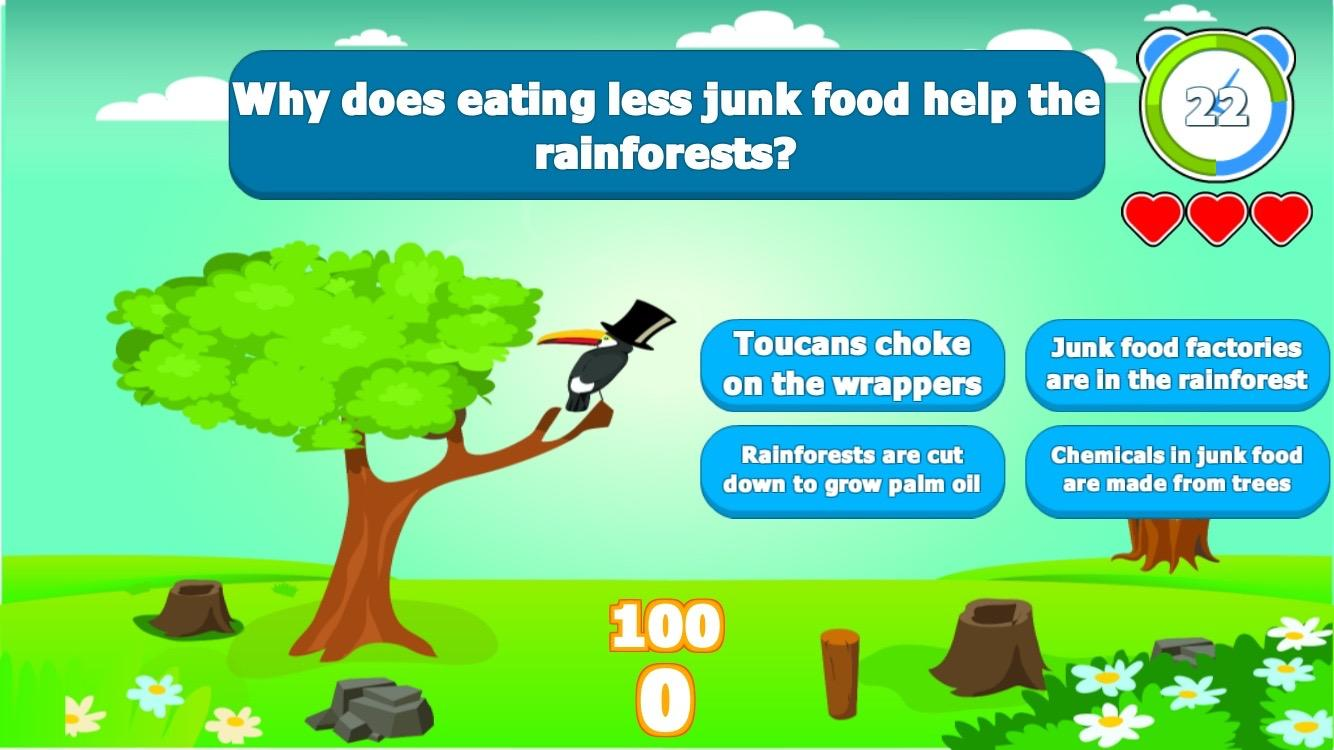 EcoTrivia Save the Animals!- screenshot