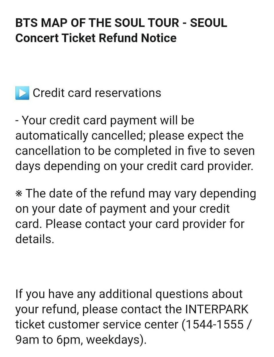 bts concert seoul cancel 2