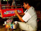 Photo: #173-Fabrique artisanale de charrettes à Sarchi