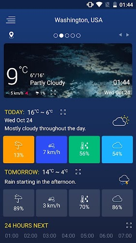 Download Weather forecast APK latest version App by creative