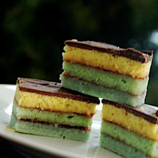 Venetian (Rainbow) Cookies
