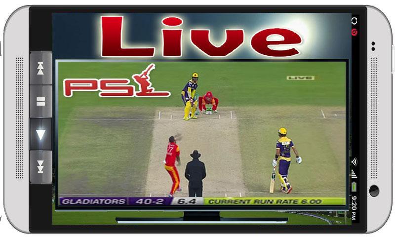 All PSL Live PTV Cricket TV HD