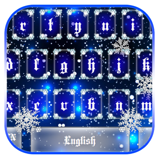 Blue Snow Keyboard