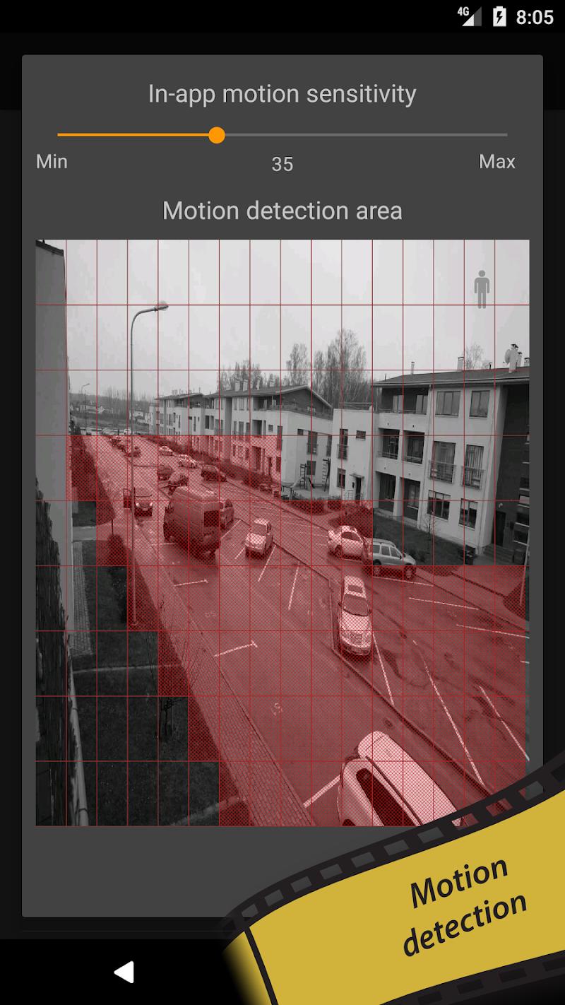 tinyCam PRO - Swiss knife to monitor IP cam Screenshot 6