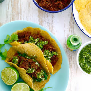 MEXICAN CHUCK STEAK TACOS.