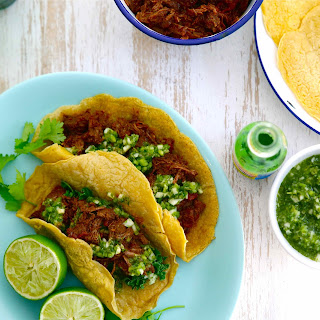 MEXICAN CHUCK STEAK TACOS.