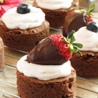 Brownies with Cream Cheese Frosting