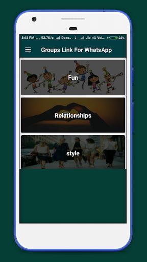 Group Link For whatsapp 1.1 screenshots 3