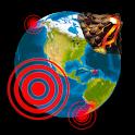 Quake & Volcanoes: 3D Globe of Volcanic Eruptions icon
