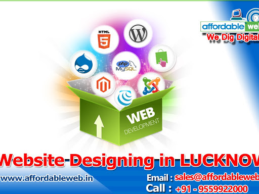 Web Designing And App Development Lucknow Hub Center on Google