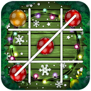 Tic Tac Toe For Christmas Emoji
