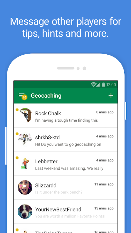 Geocaching Intro- screenshot