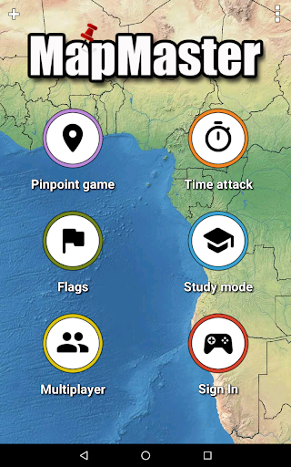 MapMaster Free - Geography game 4.8.3 screenshots 17