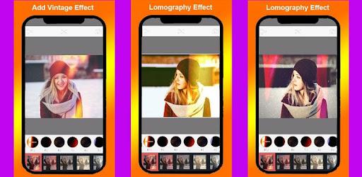 Lomography Vintage Effects : Retro Cam Editor app (apk) free