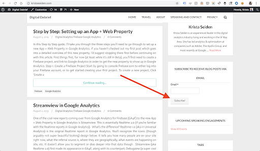 Step by Step: Setting up an App + Web Event Tag in GTM