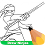 How To Draw Ninjas APK icon