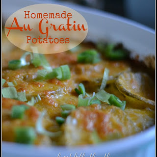 Homemade Au Gratin Potatoes