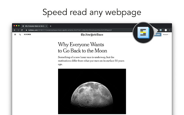 ShiftReader - Speed Read the Web