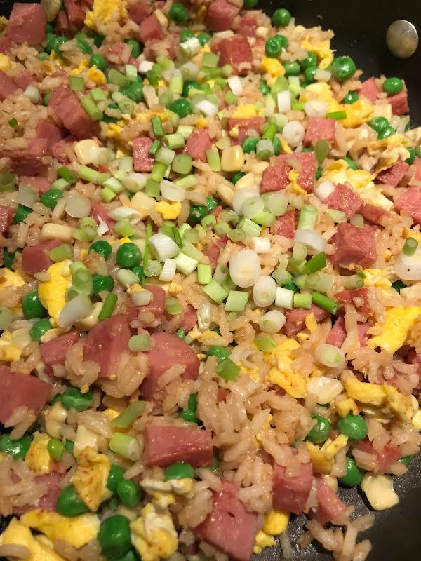 Spam Fried Rice For 2