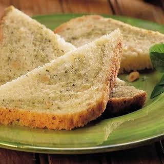 Bread Machine Pesto-Pine Nut Bread.