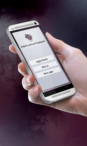 無料个人化Appのロボットアーム GO Keyboard|HotApp4Game