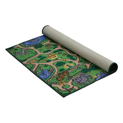 Коврик игровой Vortex Зоопарк 100x150 см