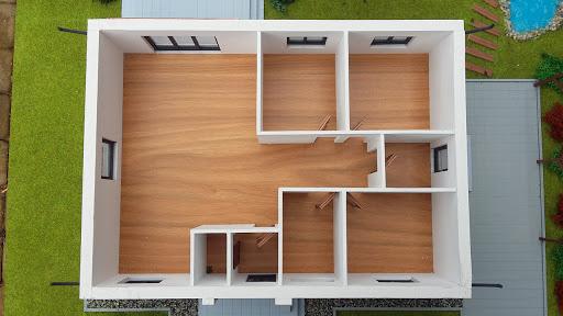 Dom gotowy MP1 - Rzut parteru numer 2