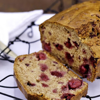 Banana and Raspberry Bread.