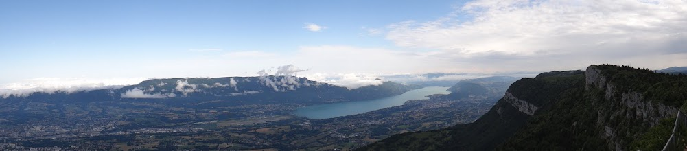 Photo: Panorama sur le Lac du Bourget