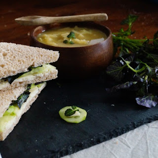 Watercress Sandwiches with Pea & Cabbage Soup – Redwall Series.