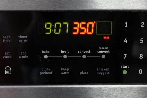 Preheat the oven to 350º.