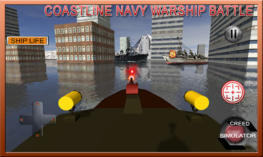Coastline Navy Warship Battleship Fleet Simulator 1.0.1 4
