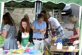 Photo: The Children's Art Project © The Priston Festival 2009, photo: Richard Bottle