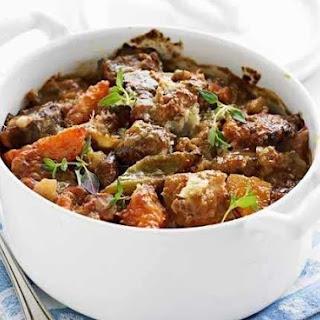 Tender Pork Stew.